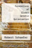cover of Foundations of Global Genetic Optimization (1st edition)