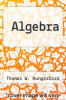 cover of Algebra (8th edition)