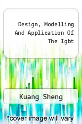 Cover of Design, Modelling And Application Of The Igbt EDITIONDESC (ISBN 978-3639185522)
