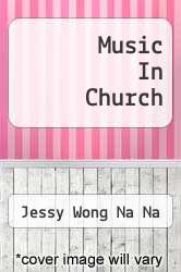 Cover of Music In Church EDITIONDESC (ISBN 978-3639307825)