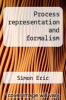 cover of Process representation and formalism
