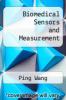 cover of Biomedical Sensors and Measurement (1st edition)