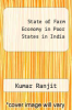 cover of State of Farm Economy in Poor States in India