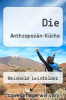 cover of Die Anthropozan-Kuche