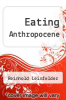 cover of Eating Anthropocene