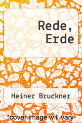 Cover of Rede, Erde  (ISBN 978-3732254637)