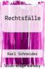 cover of Rechtsfalle