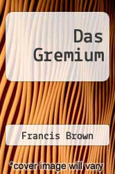 Das Gremium by Francis Brown - ISBN 9783842370609