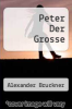 cover of Peter Der Grosse