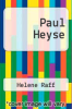 cover of Paul Heyse
