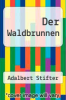 cover of Der Waldbrunnen