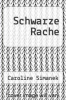 cover of Schwarze Rache