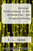 cover of Calculus: Einfa1/4hrung in Die Differential- Und Integralrechnung