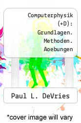 Cover of Computerphysik (+D): Grundlagen. Methoden. Aoebungen  (ISBN 978-3860253366)