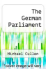 cover of The German Parliament