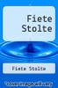 cover of Fiete Stolte