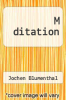 cover of M ditation