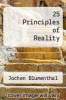 cover of 25 Principles of Reality