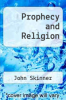 cover of Prophecy and Religion
