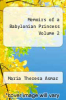 cover of Memoirs of a Babylonian Princess Volume 2