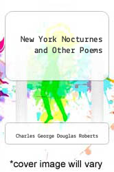 Cover of New York Nocturnes and Other Poems  (ISBN 978-5518552692)