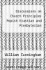 cover of Discussions on Church Principles Popish Erastian and Presbyterian