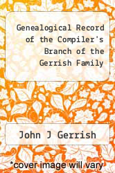 Cover of Genealogical Record of the Compiler