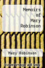 cover of Memoirs of Mary Robinson