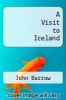 cover of A Visit to Iceland