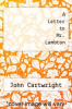 cover of A Letter to Mr. Lambton