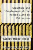 cover of Structure and Development of the Thyroid Gland in Petromyzon