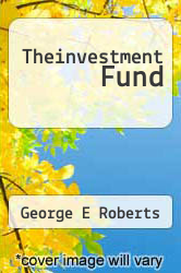 Cover of Theinvestment Fund  (ISBN 978-5518794184)