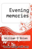 cover of Evening memories