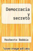 cover of Democracia y secreto