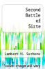 cover of Second Battle of Sirte