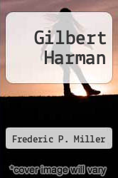 Cover of Gilbert Harman  (ISBN 978-6130864941)