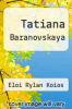 cover of Tatiana Baranovskaya