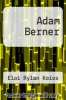 cover of Adam Berner