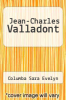 cover of Jean-Charles Valladont