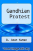 cover of Gandhian Protest