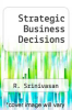 cover of Strategic Business Decisions