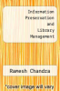 cover of Information Preservation and Library Management