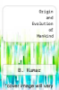 cover of Origin and Evolution of Mankind