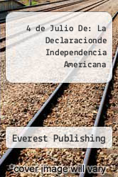 Cover of 4 de Julio De: La Declaracionde Independencia Americana EDITIONDESC (ISBN 978-8424116019)