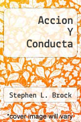 Cover of Accion Y Conducta  (ISBN 978-8425421037)
