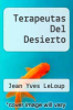 cover of Terapeutas Del Desierto