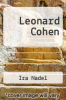 cover of Leonard Cohen