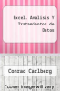 cover of Excel. Analisis Y Tratamientos de Datos