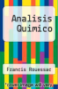 cover of Analisis Quimico