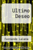 cover of Ultimo Deseo